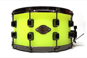 Frosted neon Green Acrylic  /Black Nickel Hardware